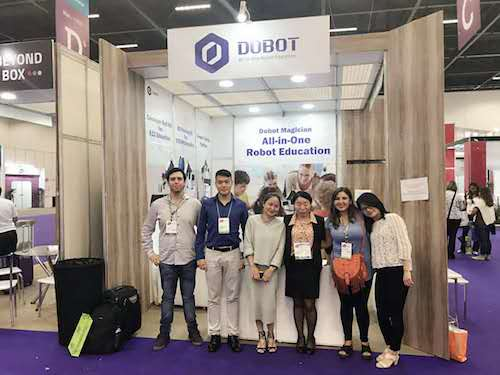 Dobot attend Brazil Educar BETT