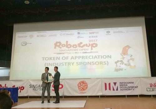 Dobot attend Robocup Singapore